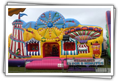 Bouncy Castle children's party ride for hire!