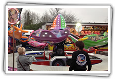 Lifting Jet Ride children's party ride for hire!
