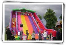 Mega Inflatable Slide children's party ride for hire!